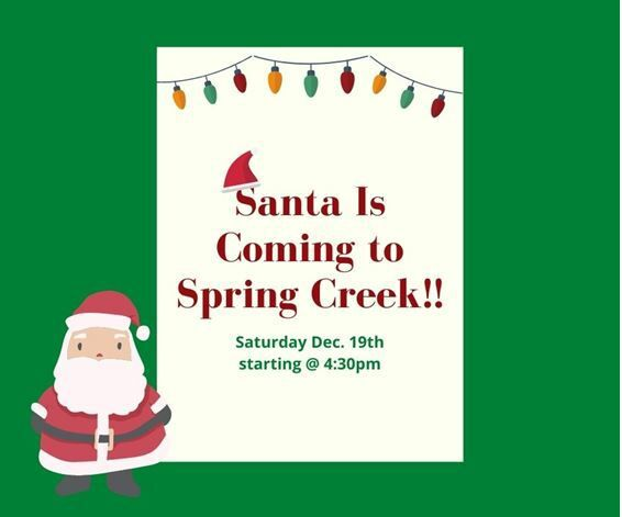 Spring Creek Association Santa Claus