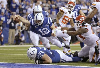 Chiefs Colts Football