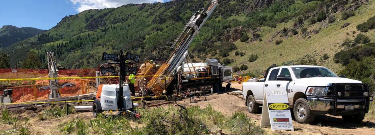 Jarbidge - Newcrest drilling