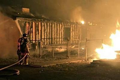 Wendover arson fire