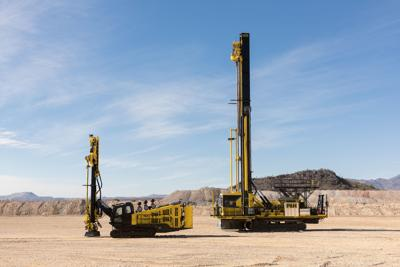 Komatsu invests in surface drill product line