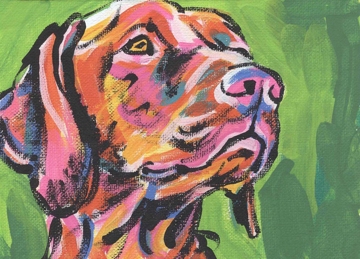 art dog