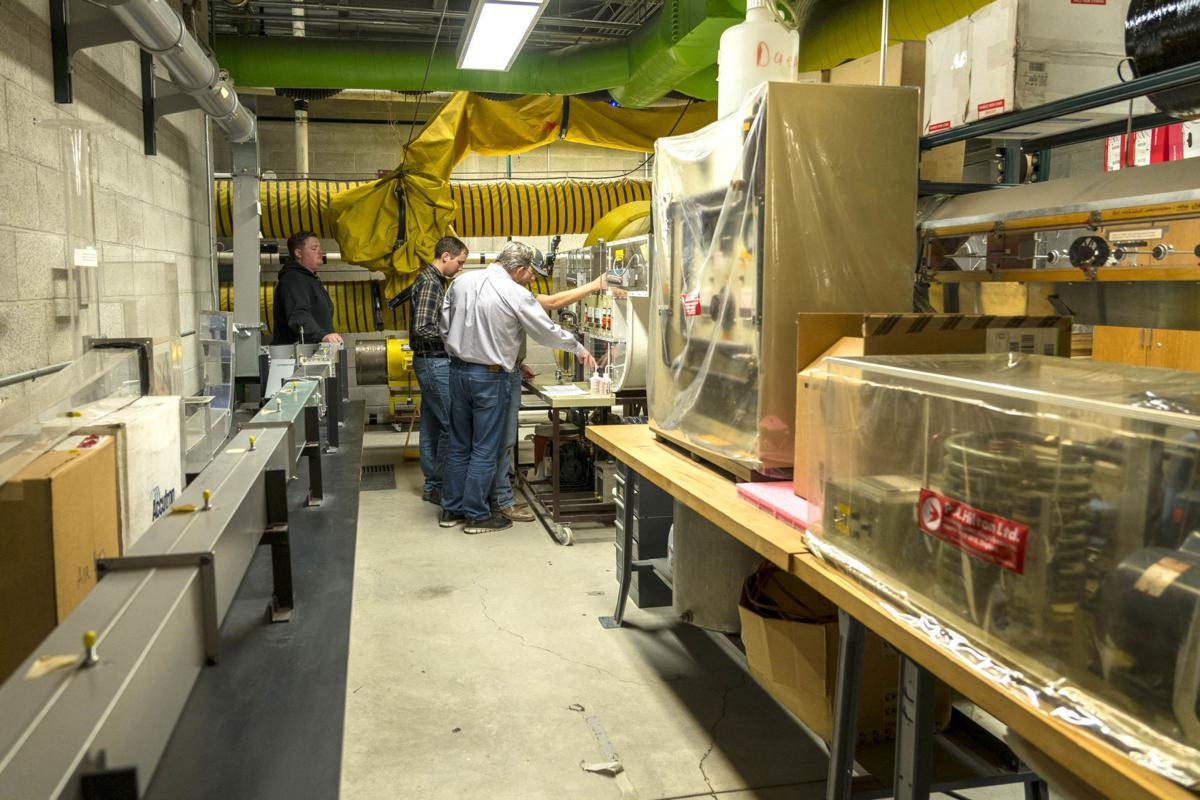 Newmont Ventilation Lab