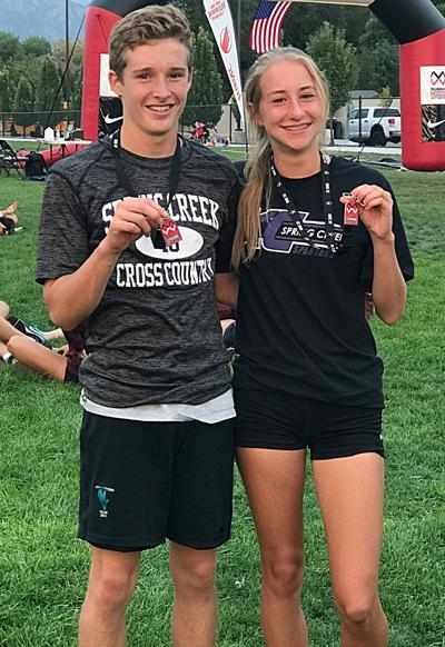 William Fallini-Haas and Rylie Lusk