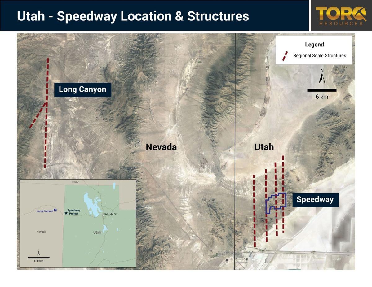Torq acquires the Speedway in Utah, begins exploration