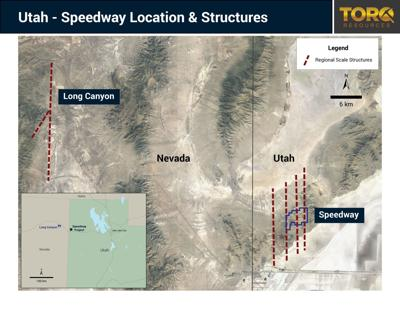 Torq acquires the Speedway in Utah, begins exploration