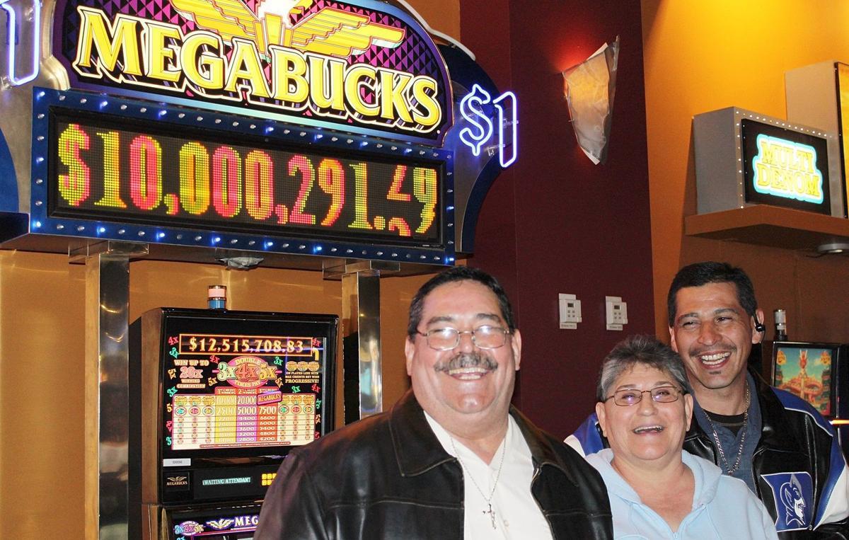 Gold Dust West Megabucks winner