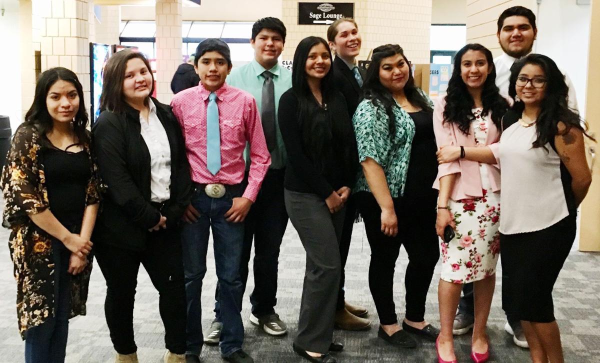 Owyhee STEM Fair winners