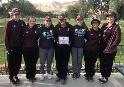Elko girls golf at Lowry