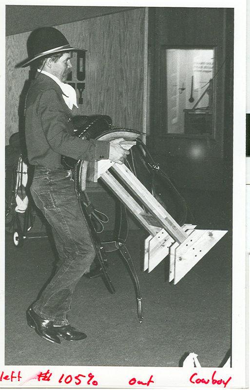 Cowboy Poetry Gathering in 1986