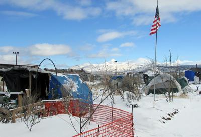 Humanitarian campground