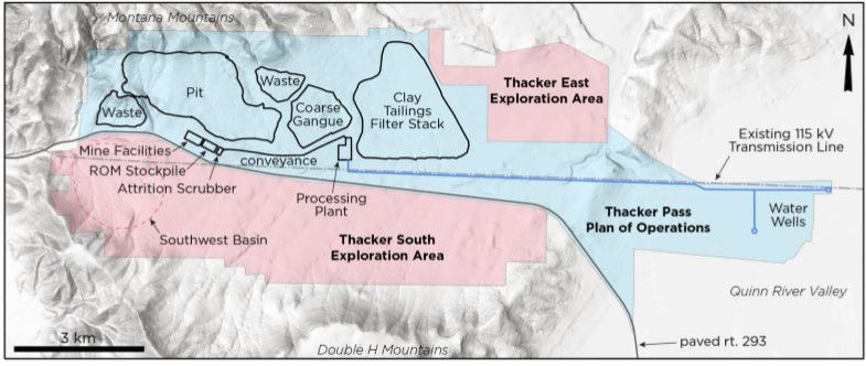 Thacker Pass - Map