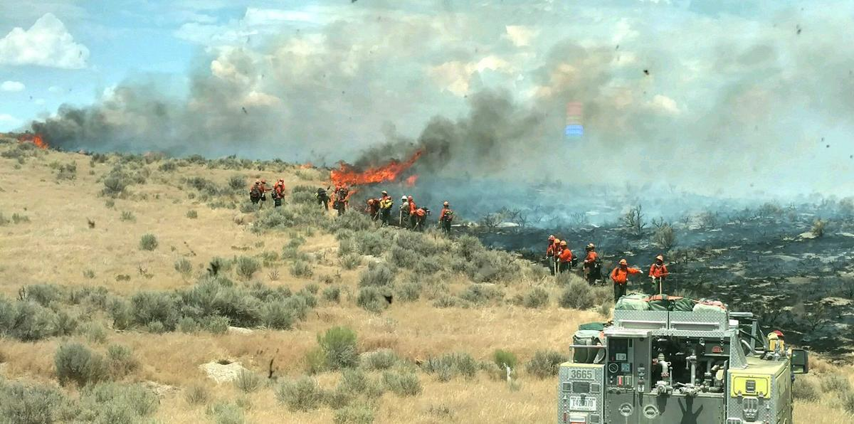 Tabor Flats Fire