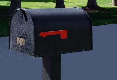 Letters mailbox