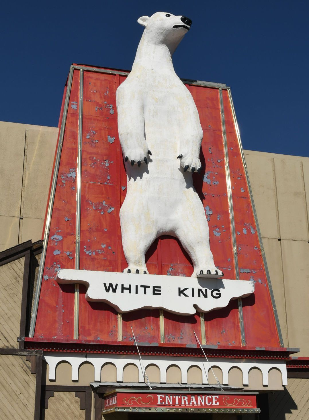 Repair the bear: White King to get facelift