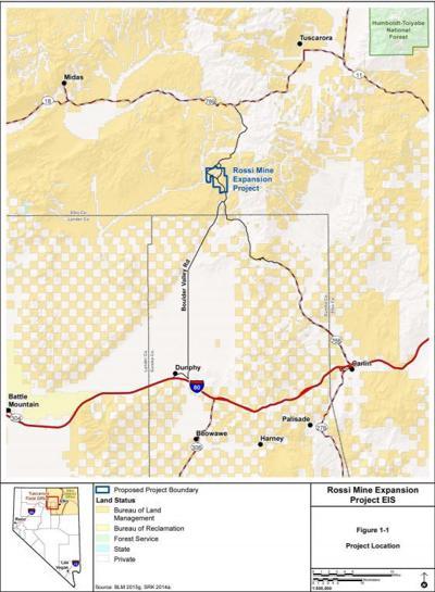 Halliburton proposes Rossi Mine expansion