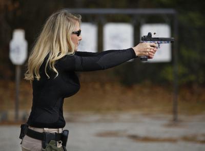 Exchange-Women-Gun Sales