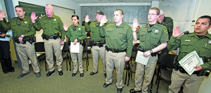 Sheriff S Office Welcomes Eight New Reserve Officers