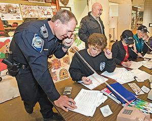 Shop with a cop raises $16,500