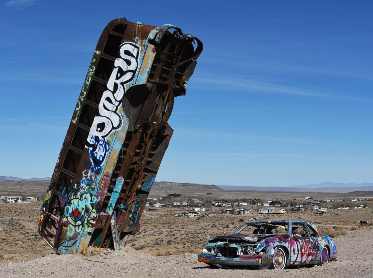 Outdoor art installations within a day's drive from Elko
