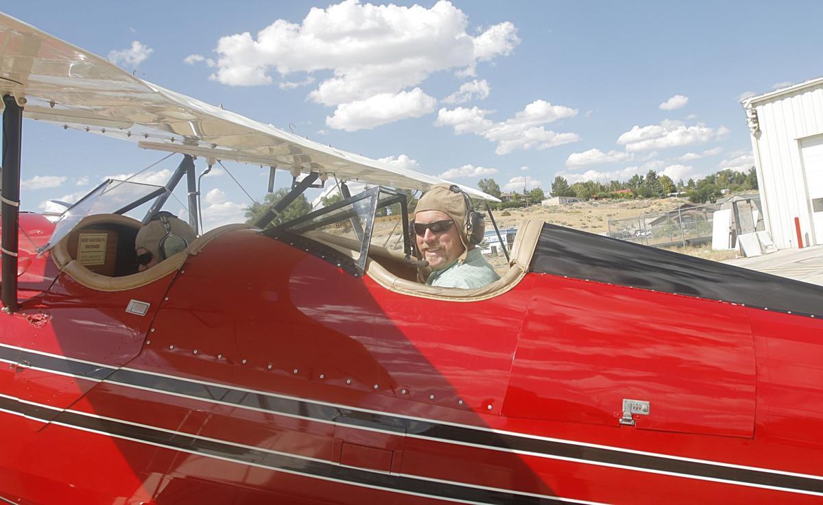 James Riordan plane