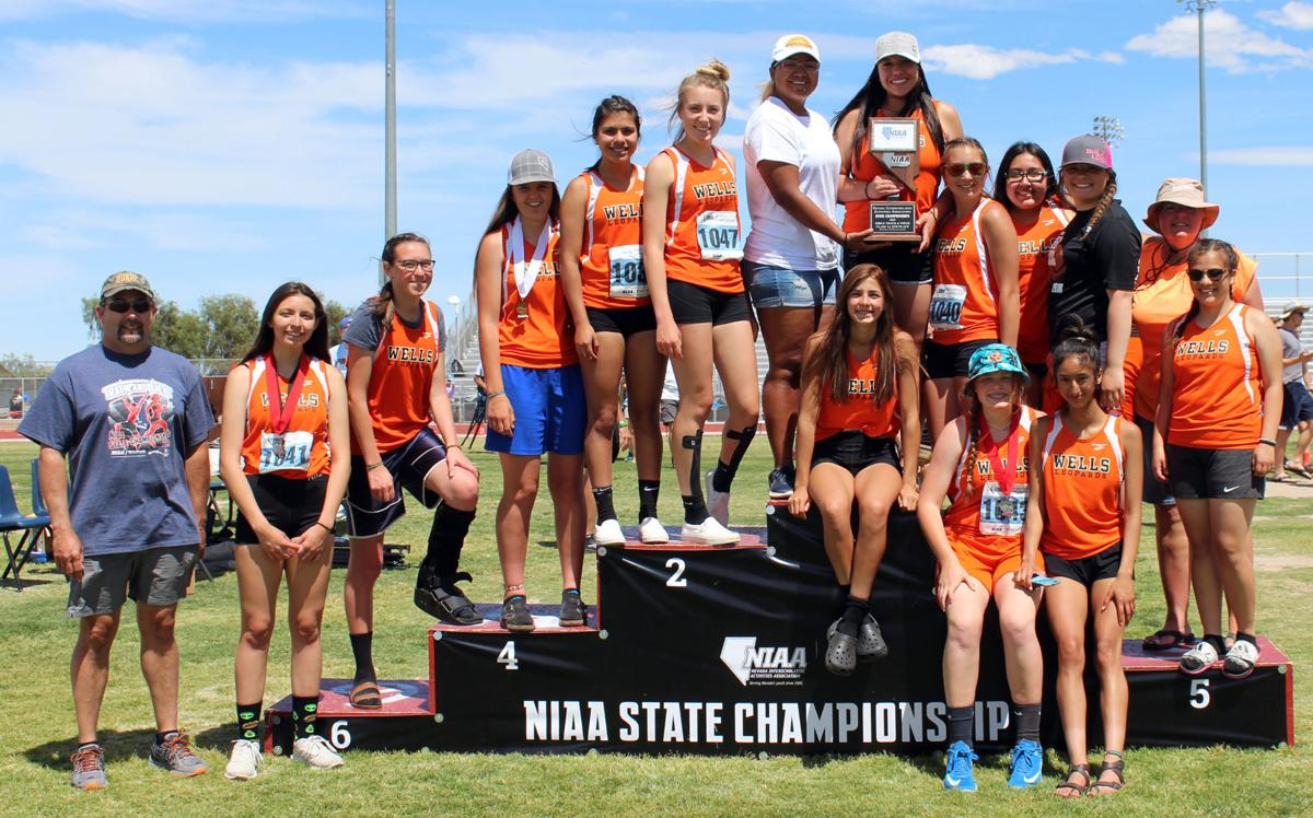 Wells Lady Leopards -- 1A State Track and Field Runners-Up
