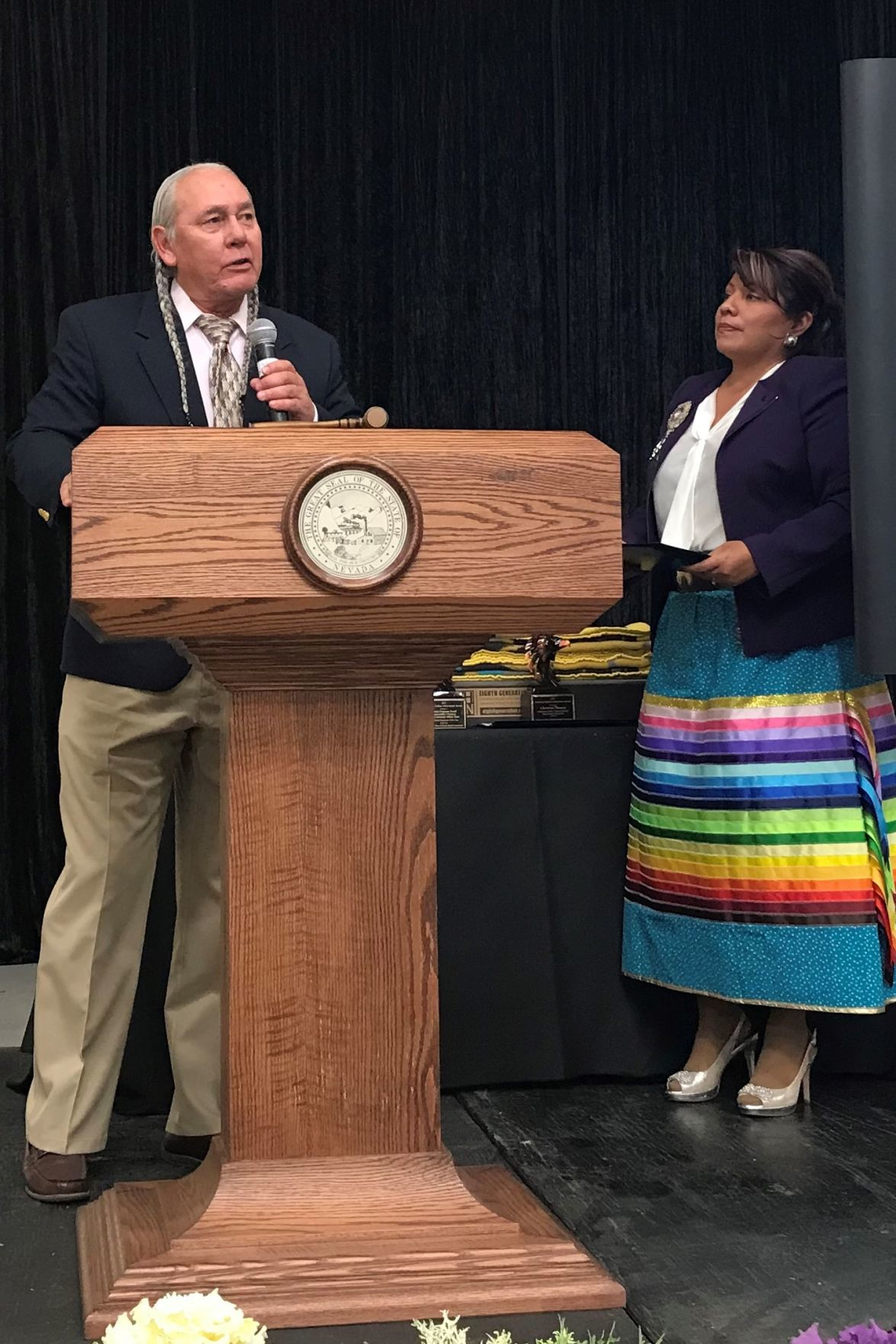 Barrick honored with American Indian Achievement Contributor/Supporter of the Year award