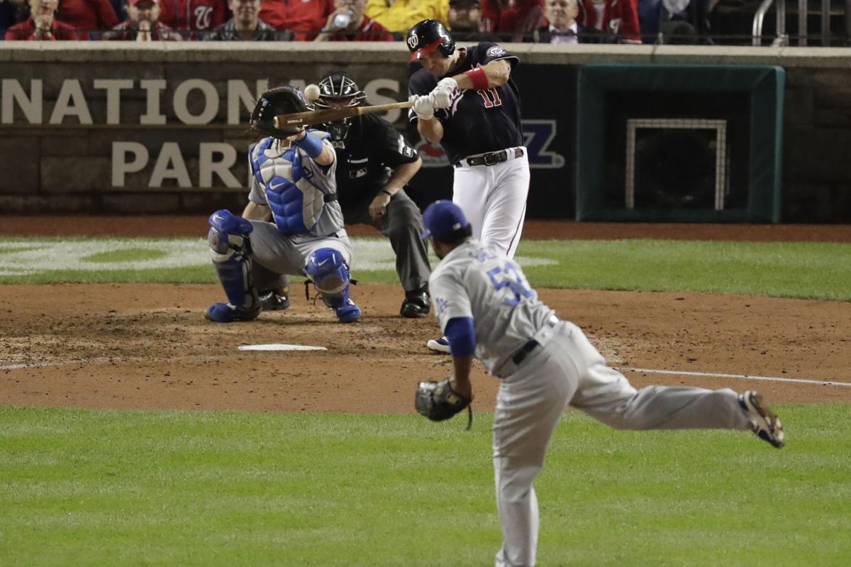 NLDS Dodgers Nationals Baseball