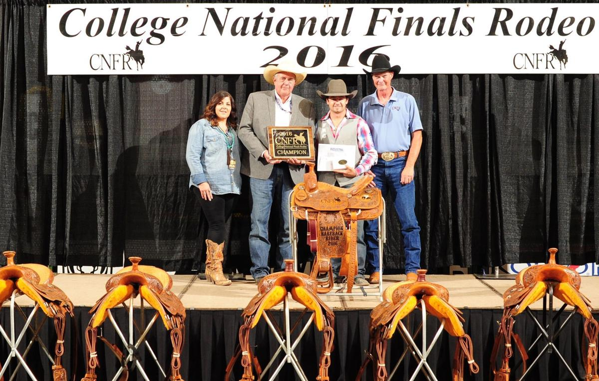 Denny Feather River College Win Cnfr Bareback And Men S