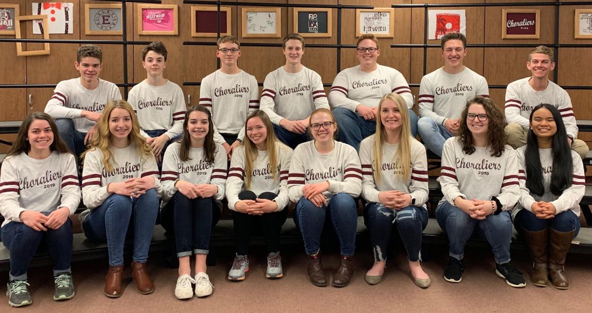Elko High School Choraliers all-state choir members