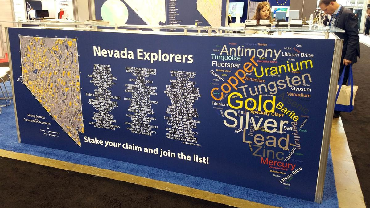 Nevada PDAC booth - Chart