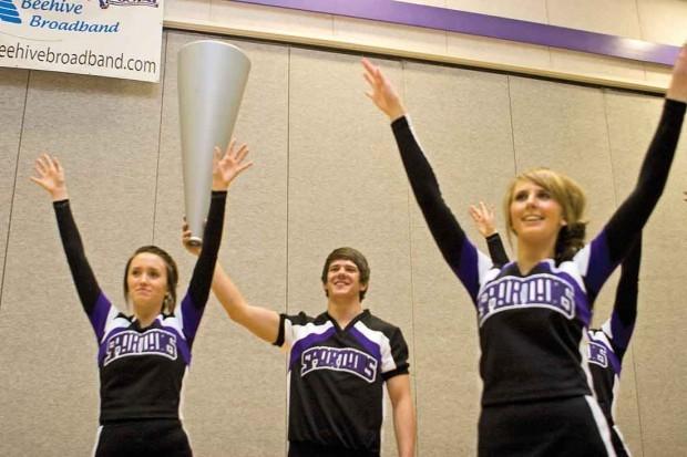 Spring Creek junior breaks stereotypes as only male cheerleader