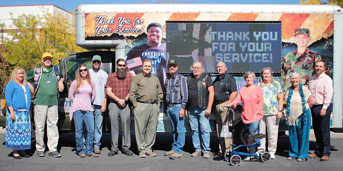 Van uses technology to promote veteran benefits