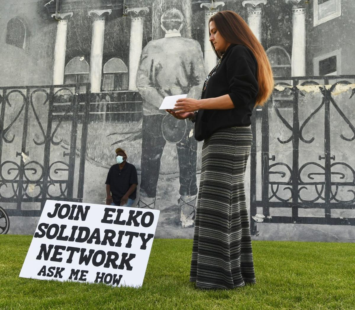 Second Elko solidarity march