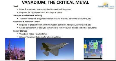 Vanadium uses