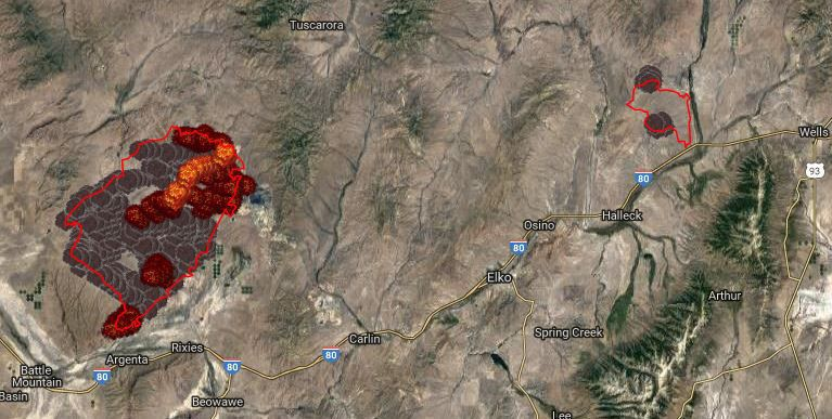 Rooster S Comb Fire Jumps To 220 000 Acres Local Elkodaily Com