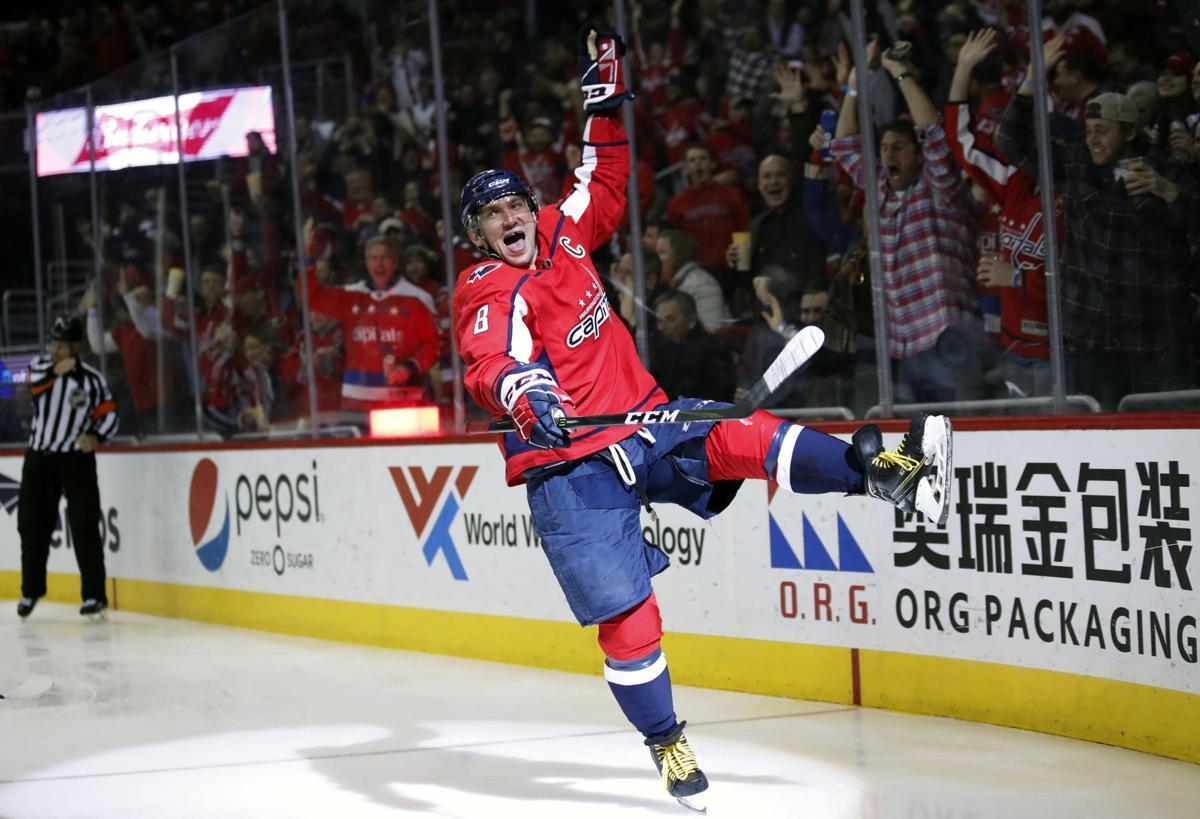 APTOPIX Jets Capitals Hockey