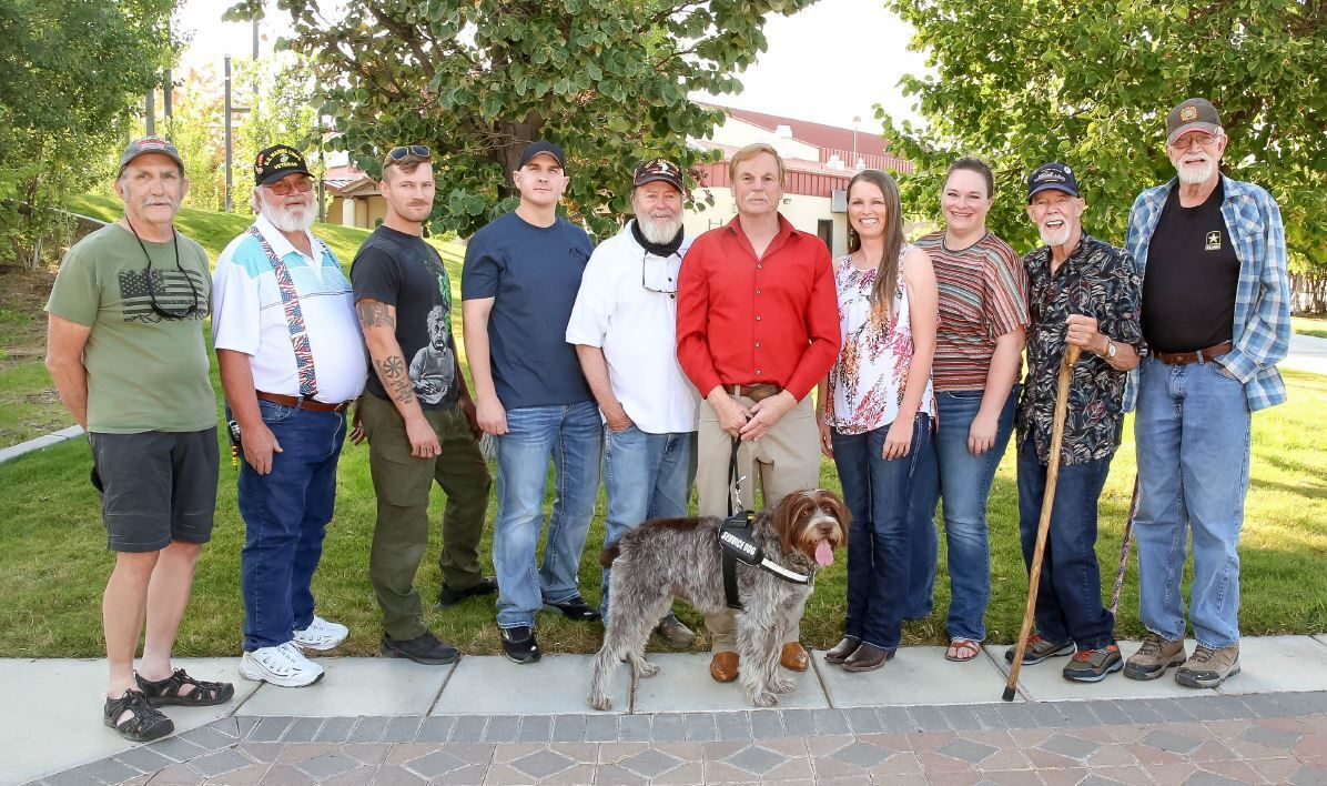 Local veterans mark World Suicide Prevention Day