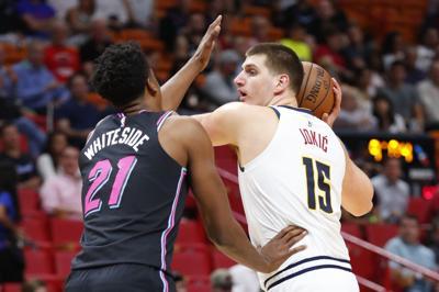 Nuggets Heat Basketball