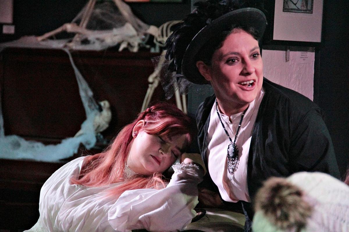 Poe rehearsal Lenore