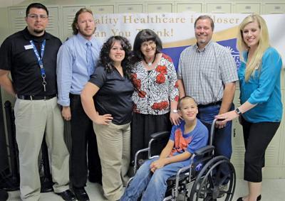 Wheelchair donation NNRH