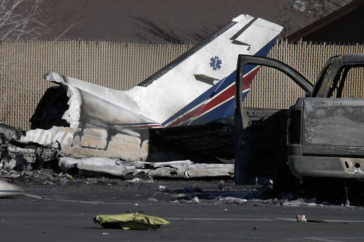 American Medflight plane crash