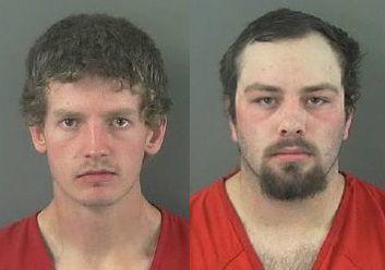 Blowgun arrests