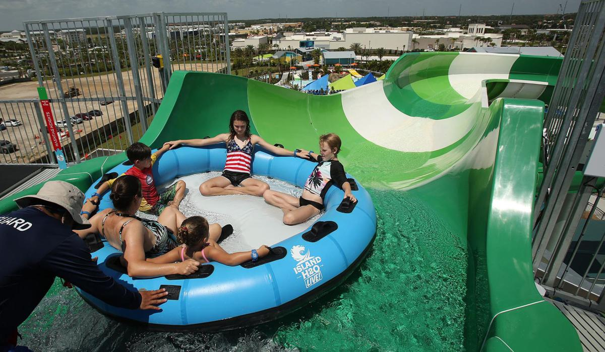 Island H2O Live water park at Margaritaville Resort in Kissimmee, Fla., is pictured on Wednesday, June 26, 2019.