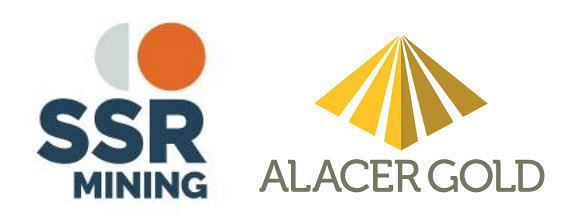 SSR Mining and Alacer Gold logos