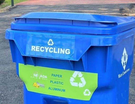 Recycling available at county fair
