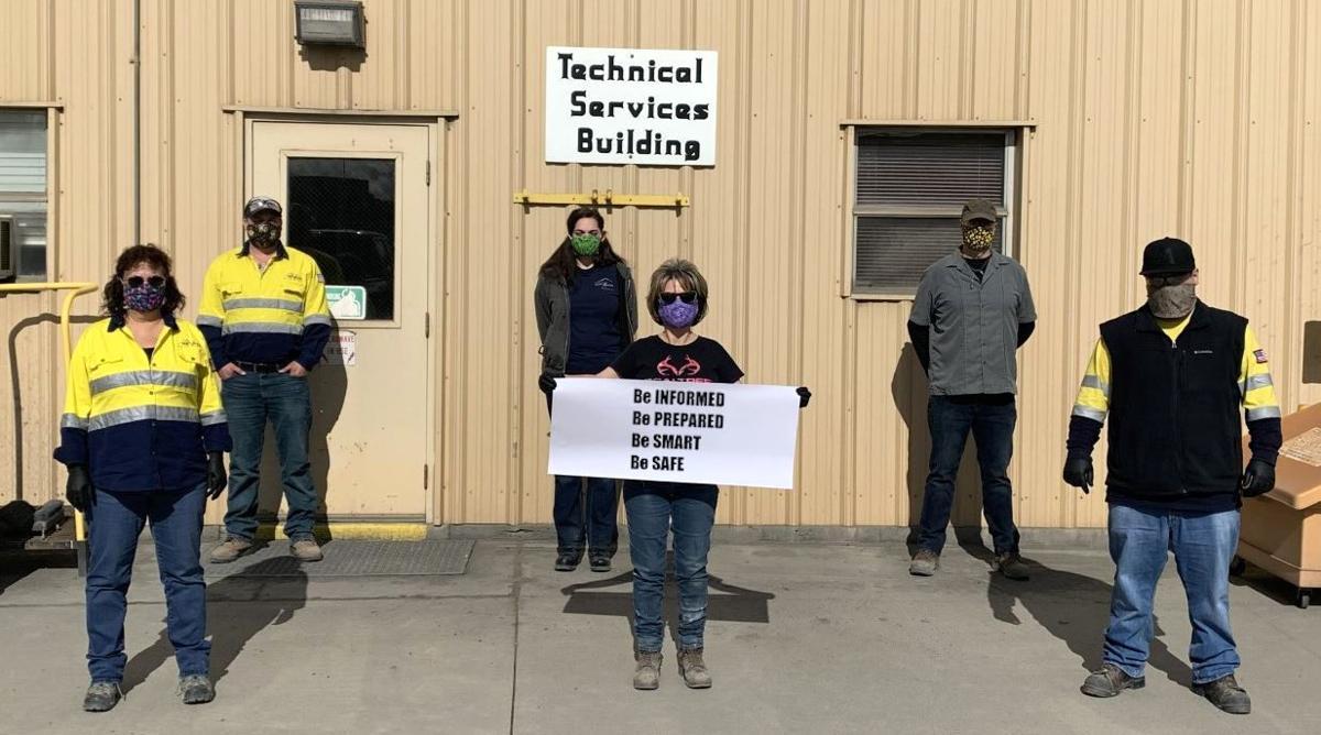 NGM social distancing - Gold Quarry lab