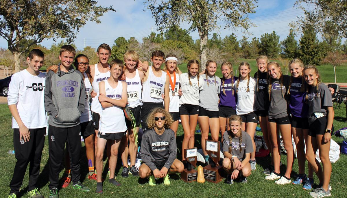 Spring Creek 2018 3A state cross country