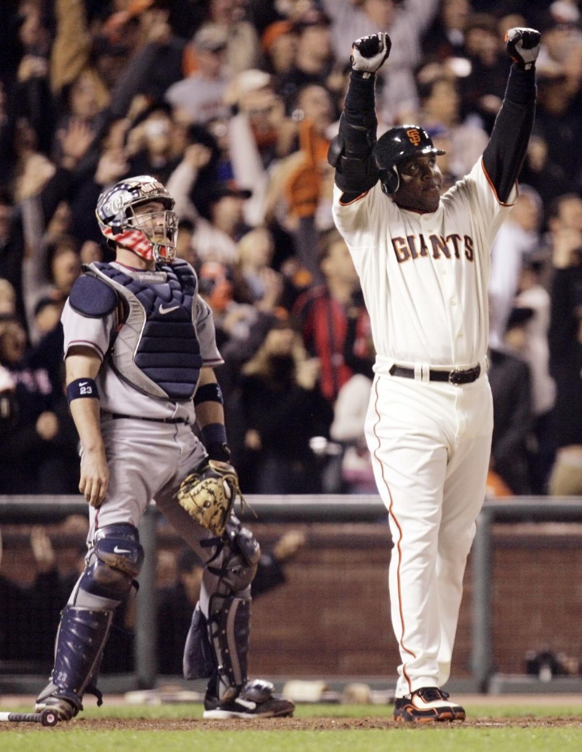 Giants-Bonds Number Retired Baseball