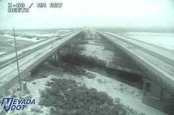 Interstate 80 near Deeth